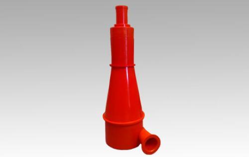 Revestimiento para hidrociclones en poliuretano